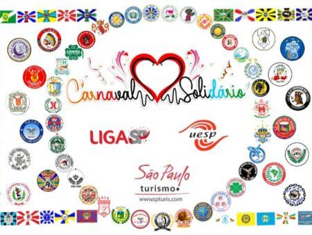 Liga e Uesp juntas no Carnaval Solidário SP