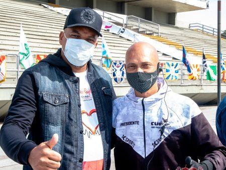 Em parceria com Uesp e Liga, Unidos da CUFA entrega cestas básicas para profissionais do Carnaval
